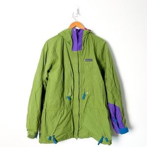 Vintage Patagonia Green Ski Rain 80s Jacket